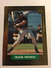 1992 FRANK THOMAS FRONT ROW PURE GOLD MLB CARD #1 OF 3 - SELLING SINGLE FROM SET