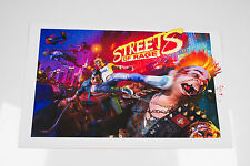 Streets of Rage. Official SEGA fine art print. Limited Edition of 200