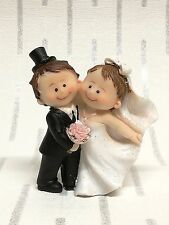 Bride and Groom Wedding Cake Toppers Cute