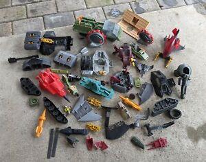 Lot of G.I. Joe Hasbro Vehicles Accessories Incomplete