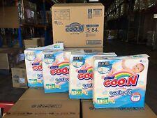 GOON Japanese Nappies Japan Version 4 ~ 8kg Carton 4 x 84pcs #39478