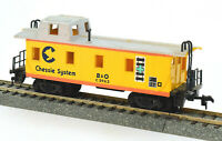 HO Scale Chessie System B&O End Cupola Caboose #C-3963 Baltimore & Ohio