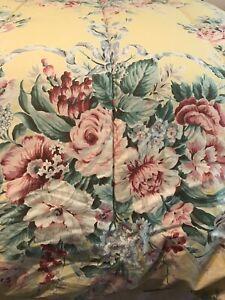 Rare Ralph Lauren Evelyn Full / Queen Yellow Floral Comforter