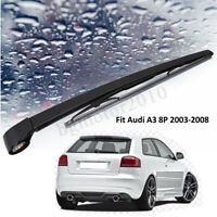 Bras Balai d'essuie-glace pare-brise Arrière Complet pour Audi A3 8P 2003-2008