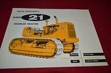 Allis Chalmers HD-21 Crawler Tractor Dealers Brochure BWPA Ver11