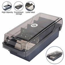 Business Card Organizer Desk Box Storage Holder Case Up 500 Card For Office Home