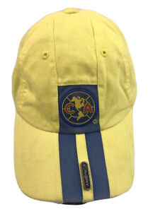 Club America CA FMF Mexico Soccer Rhinox Group Fitted Cap Hat One Size Fits all