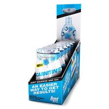 BPI Sports Carnitine Snow Cone Liquid Water Enhancer 24 srv (6ct) Best by 9/19