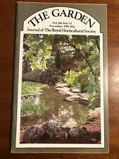 THE GARDEN VOL 106 PART 11 NOVEM 1981 Journal Of The Royal Horticultural Society
