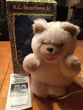 Vintage TeleConcepts K C Bearifone Teddy Bear Phone New In Box Never Used