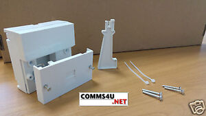 2021 BT Telephone Master Socket NTE5A + Back Box Genuine Pressac for Openreach