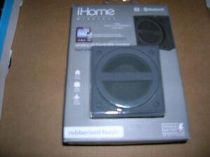 iHome Bluetooth Wireless Rechargeable Speaker - rubberized finish - NEW in origi
