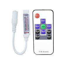 Dimmer Controller LED RGB telecomando wireless 12/24V 12A rf programmi luce rgb
