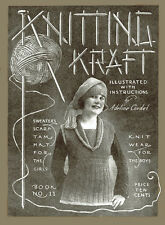 Adeline Cordet #11 c.1918 WWI Era Women's Sweater Knitting Patterns