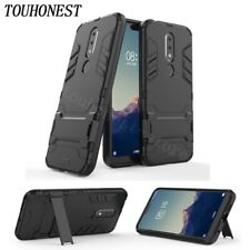 Shockproof Armor PC+TPU Stand Case Cover For NOKIA 2.1 3 6.1 7.1 9 5.1 Plus 8.1