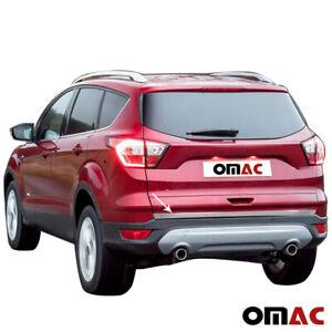 Pour Ford Kuga 2013-2019 Chrome Moulure de Coffre Bande Du Décoratives Inox