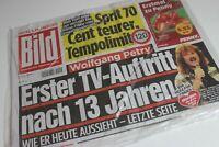 BILDzeitung 06.12.2019 Dezember * Wolfgang Wolle Petry    Schlager  Konzert