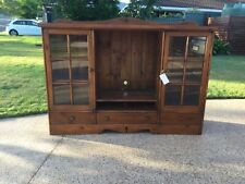 Solid wood TV Cabinet in good condition