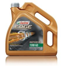 Castrol Edge 4l Car Engine Oil 4 Litres SAE 10w60 Fully Synthetic Titanium FST