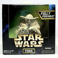 "STAR WARS Collector's Series YODA 6"" Figure Fully Poseable 1997 Kenner NIB"