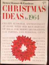 better homes and gardens magazine lot of 2 christmas ideas 1964 september 1982 - Better Homes And Gardens Past Issues
