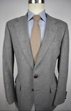 Durlam & Durlam Light Gray 100% Camel Hair Two Button Sport Coat Size: 42R