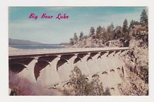 Big Bear Lake CA picturesque concrete arch type dam was completed in 1911 post c