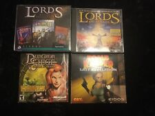 Lords o/t Realm - Tomb Raider Last Revelation - Dungeon Siege - Lords of Magic