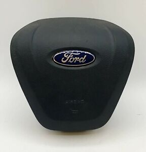 2017-2020 Ford Fusion Left Driver Steering Wheel Airbag Black
