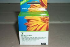 Black Ink Cartridge #21 for HP C9351AN HP21 DeskJet 1430 and More