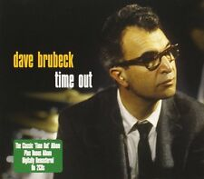 Dave Brubeck Time Out/Gone With The Wind 2-CD NEW SEALED Remastered Jazz