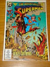 SUPERMAN #493 VOL 1 DC COMICS NEAR MINT CONDITION AUGUST 1992