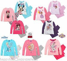 GIRLS Disney MINNIE MOUSE Princess SOFIA Frozen CHARACTER Long Sleeve PYJAMA SET