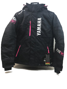 NEW FXR YAMAHA Women's Fresh Jacket Black/Electric Pink Waterproof Snowmobile