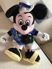 RETIRED The Disney Store Mini Bean Bag Tourist Mickey Beanie Plush Toy NWT