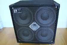 SWR  GOLIATH II 4 X 10 4X10 700 WATTS BASS SPEAKER CAB MADE IN USA CABINET
