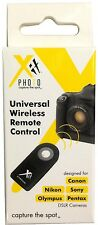 Universal Wireless Remote Control for Canon Nikon Sony Olympus Pentax Cameras
