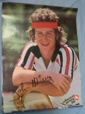 Original 1979 Pro Tennis Player John McEnroe Full-Size 19x25in. 7Up Poster MINT