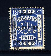 PALESTINE - PALESTINA - 1922 - Francobolli del 1921 soprastampati col nome del p