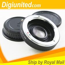Contax Yashica mount C/Y lens to Pentax K mount PK adapter K10D K-7 K-5 K-r K-01