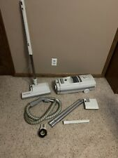 Electrolux Ambassador III Canister Vacuum W/ Power Nozzle Hose Attachments C101H