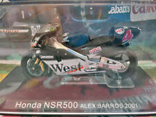 "1/24 Altaya Honda NSR500 Alex Barros Moto GP 2001 ""West"" Sponsor"