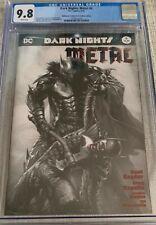 Dark Nights: Metal 6 DC Comics 05/18 Bulletproof Comics B/W Edition CGC 9.8