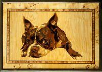 Regalo ecologico del pannello di legno della decorazione di parete di arte