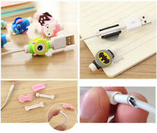 2pc MIX lovely Protector Saver Cover For Apple iPhone USB Charger Cable Cord #9
