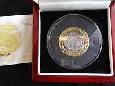 2008 SILVER PROOF PIEDFORT TDC £5 COIN RUBIES SAPPHIRES DIAMONDS BOX + COA 499