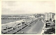 BR96062 east beach palace  west piers brighton valentine s h 9665 real photo  uk