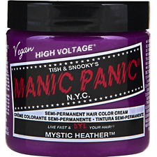 Manic Panic Semi-Permament Hair Color Creme, Mystic Heather 4 oz (Pack of 2)