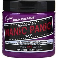 Manic Panic Semi-Permament Hair Color Creme, Mystic Heather 4 oz (Pack of 2)
