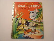 Little Golden Book - MGM's Tom and Jerry, E Edition, 29 cent